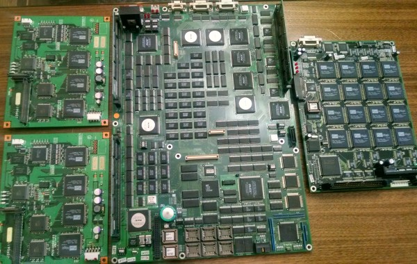 Noritsu 2901 image processing board, image correction board and digital ice